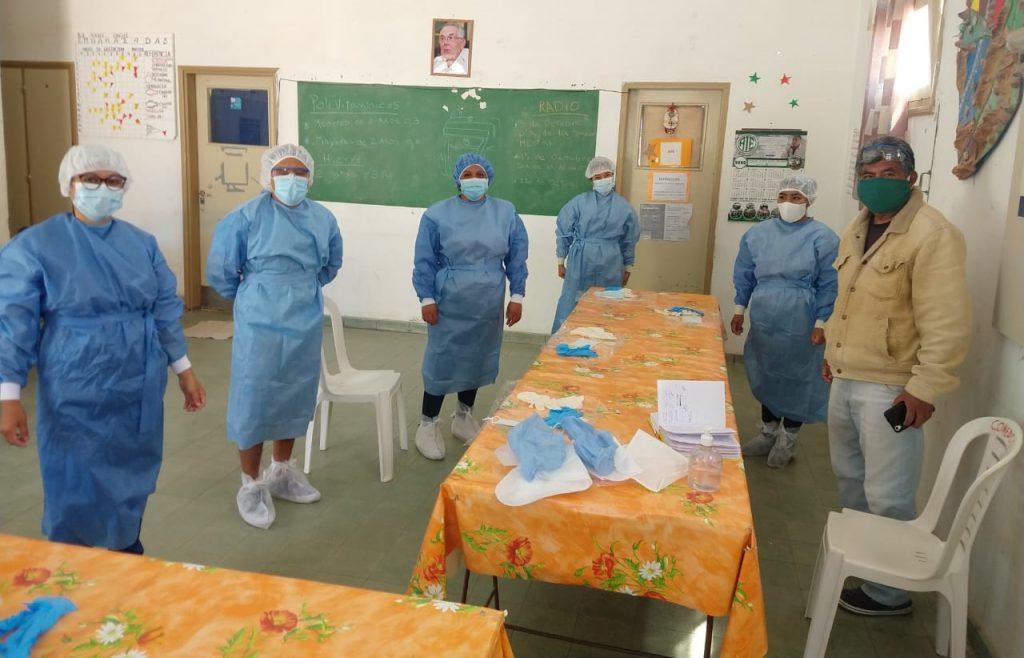 Se incorporaron enfermeros al hospital de Cachi